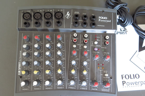 Soundcraft Inc Top Of The Line Powered Mini Mixer With 30